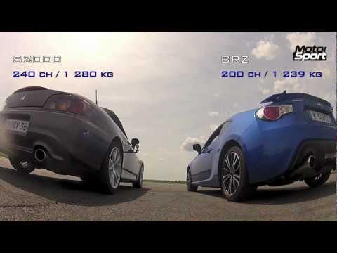 تحدي بين هوندا S2000 و سوبارو BRZ