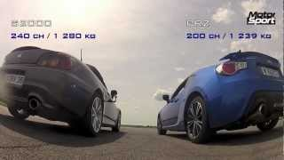 Drag race : Subaru BRZ VS Honda S2000 (Motorsport)      - YouTube