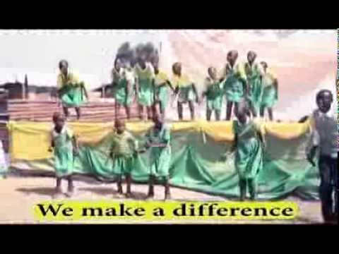 CA Kabale children performing the Better Globe song
