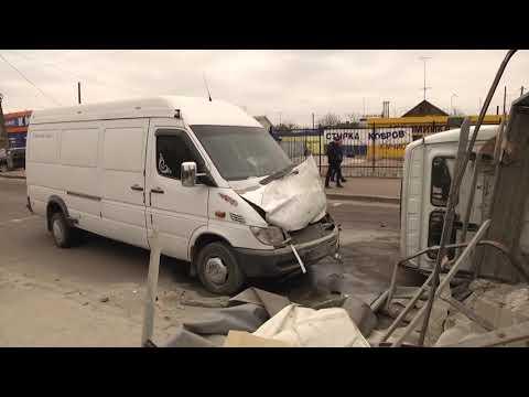 У Житомирі зіштовхнулися три автівки