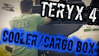 5. Kawasaki Teryx Dual Compartment  Insulated Cooler/ Cargo Box - SuperATV