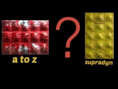 Best multivitamin ¦¦ Supradyn vs A to Z tablet