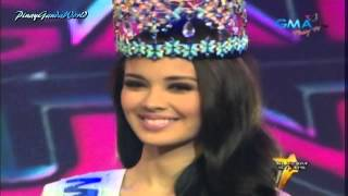 Sunday All Stars - Megan Young (Miss World) Opening = 10/13/13