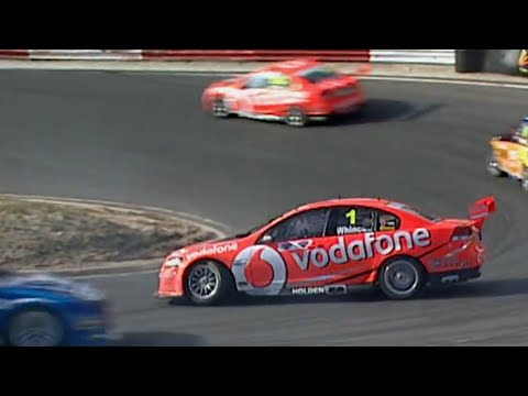 Jamie Whincup Spin Recovery