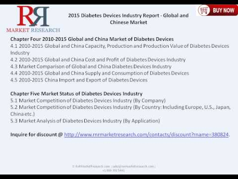 Diabetes Devices Industry Global and Chinese Analysis for 2010 – 2020