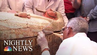 Egypt Opens Ancient Coffins To Find Perfectly Preserved Mummies