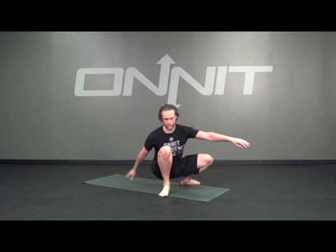 Springing Tripod (1 Hand) Bodyweight Exercise