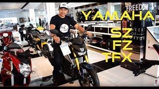 7. Shop Talk: Yamaha SZ 150 | FZi 150 | TFX 150