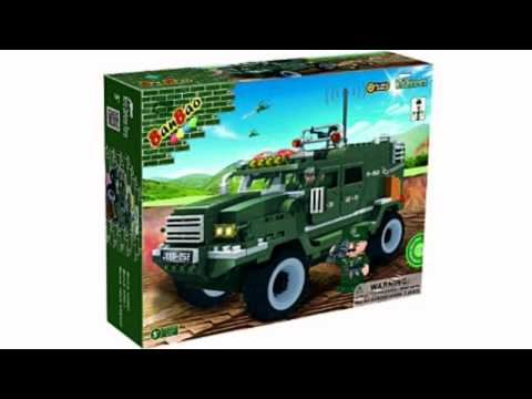 Video Video ad for the Military Vehicle Toy Building Set