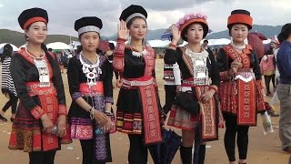 Xieng Khouang Laos  city pictures gallery : New Year Hmong Xieng Khouang