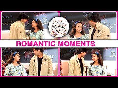 Sameer And Nanina ROMANTIC MOMENTS While Dance Pra