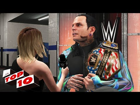 WWE 2K18 Top 10 RAW  Moments : April 16, 2018 (Superstar Shake up)