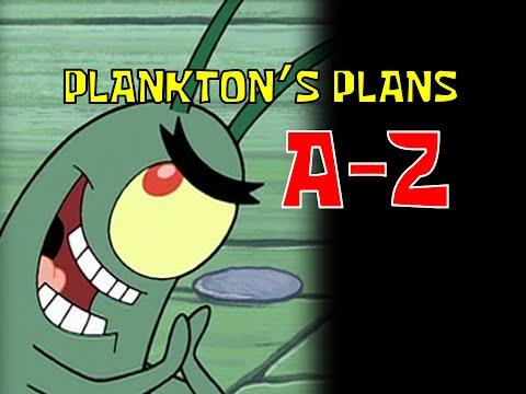 Plankton's Plans A-Z (SpongeBob Seasons 1-5 plus Movie)