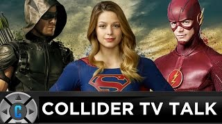 CW DC Crossover Event Review (Supergirl, The Flash, Arrow, Legends of Tomorrow) - Collider TV Talk by Collider