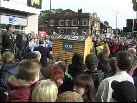 Frank Sidebottom Statue Inauguration Not Seen Before