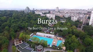Burgas Bulgaria  city photos : Burgas - The best city to live in Bulgaria (Aerial Video)