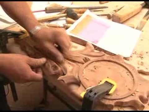 Tallado en Madera - El tallado en madera es una técnica que requiere de talento y paciencia. En la siguiente nota podrán ver los maravillosos trabajos de Ricardo Lucero.