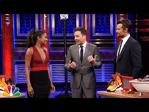 Random Object Shootout with Gabrielle Union and Josh Duhamel