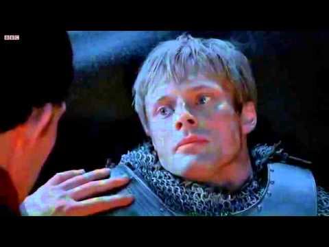 Merlin Merlin Reveals His Magic To Arthur.