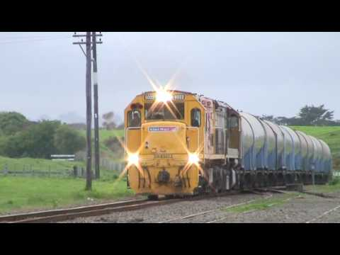 Kiwirail Taranaki Milk Trains