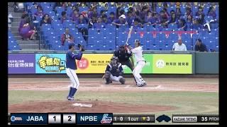 ヤクルト塩見泰隆の台湾ウインターリーグホームラン集!