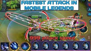 Video FASTEST ATTACK IN MOBILE LEGENDS | 6 WINDTALKER + passive + ulti + 1st skill MP3, 3GP, MP4, WEBM, AVI, FLV September 2018