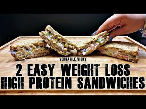 Diet plans - 2 Healthy Sandwich Recipes For Weight Loss  Weight Loss Sandwich Recipes