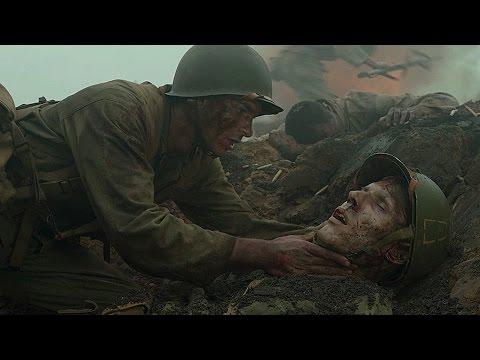 Командир закрыл гранату трупом. Фрагмент из фильма. По соображениям совести. 2016. (видео)