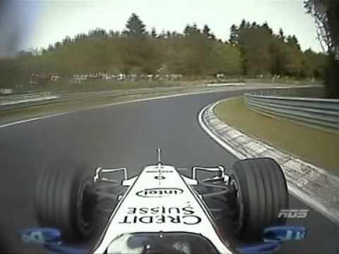 2007 F1 on Nurburgring Nordschleife - Nick Heidfeld (Full lap)
