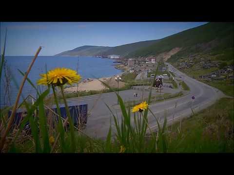 Magadan - Rusko , mesto založené v r.1939 (видео)