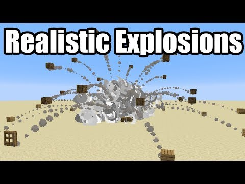 Realistic TNT Explosions in Minecraft 1.14