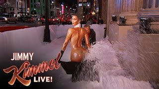 Kim Kardashian Model Snowblower