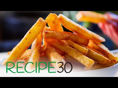 How to cook Perfect French Fries like in a restaurant - Best Chips
