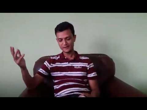 """भगवान् साक्षात्कार"" नामक कविता वाचन गर्दै कवि अरुण देवकोटा"