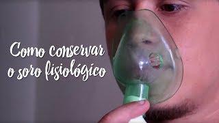 Momento Clinic Farma - Como conservar o soro fisiológico