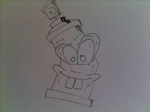 Comment dessiner un graffiti - Dessin de tag alphabet ...