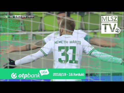16. forduló: Haladás - DVTK 1-1 (0-0)