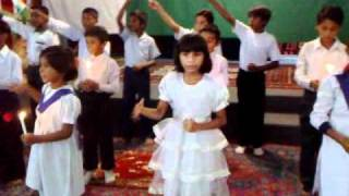Payary Pakistan Main Laain Gay Hum Noor Gospel Church Sunday School Sahiwal.mp4