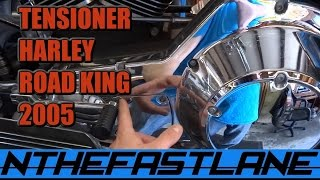 10. Primary Chain Tensioner: How To Adjust (Harley Davidson Road King Custom 2005)