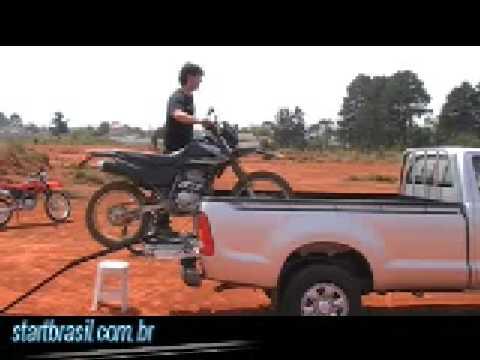 Embarque sua moto sozinho!!!!