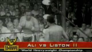 Ali Vs Liston 2 - 1st Round KO