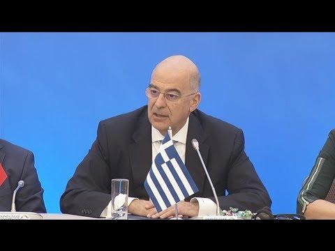 Ν. Δένδιας: Εξαιρετικά ικανοποιημένη η Ελλάδα από το κείμενο συμπερασμάτων του Ευρωπαϊκού Συμβουλίου