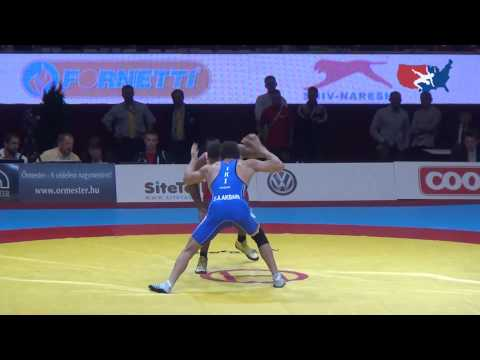 74 KG Gold – Jordan Burroughs USA vs Ezzatollah Abbas Akbarizarinkolaei IRI