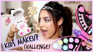 Video KIDS MAKEUP CHALLENGE⎮ Je teste le maquillage d'enfants ! MP3, 3GP, MP4, WEBM, AVI, FLV Agustus 2017