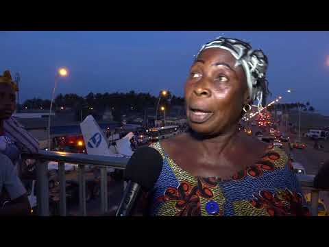 COTE D'IVOIRE: Crash d'avion 10 passagers, 4 ont survécu