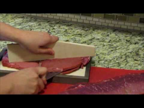 How to Make Jerky – Step 1 Properly Cutting and Weighing Meat