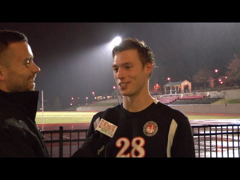 Bryan Hall Post Game vs Guilford College