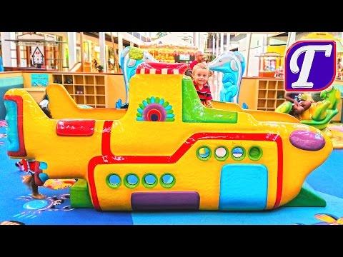 Игры на Детской Площадке в Торговом Центре – Сказочно Красивая Площадка Для Детей VLOG entertainment (видео)