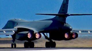 Video USAF B1-B Lancer EARTH SHATTERING Full Afterburner takeoff! MP3, 3GP, MP4, WEBM, AVI, FLV Agustus 2019