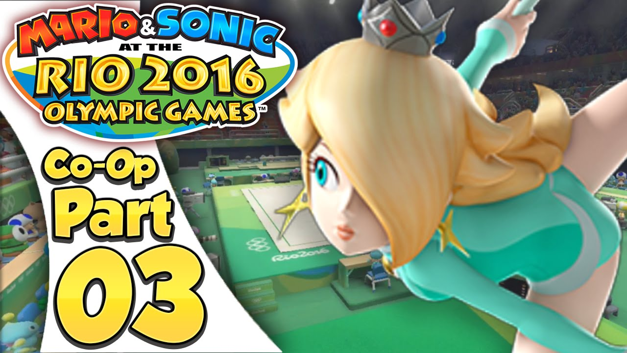 Mario & Sonic At The Rio 2016 Olympic Games – Co-Op Tournament Part 3 | Rhythm Gymnastics!